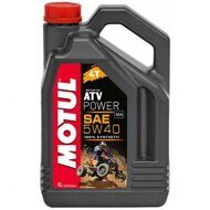 Моторное  масло  MOTUL ATV POWER 4T 5W-40, 4 литра