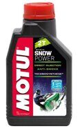 Масло MOTUL Snow Power 2T синтетика. 1литр